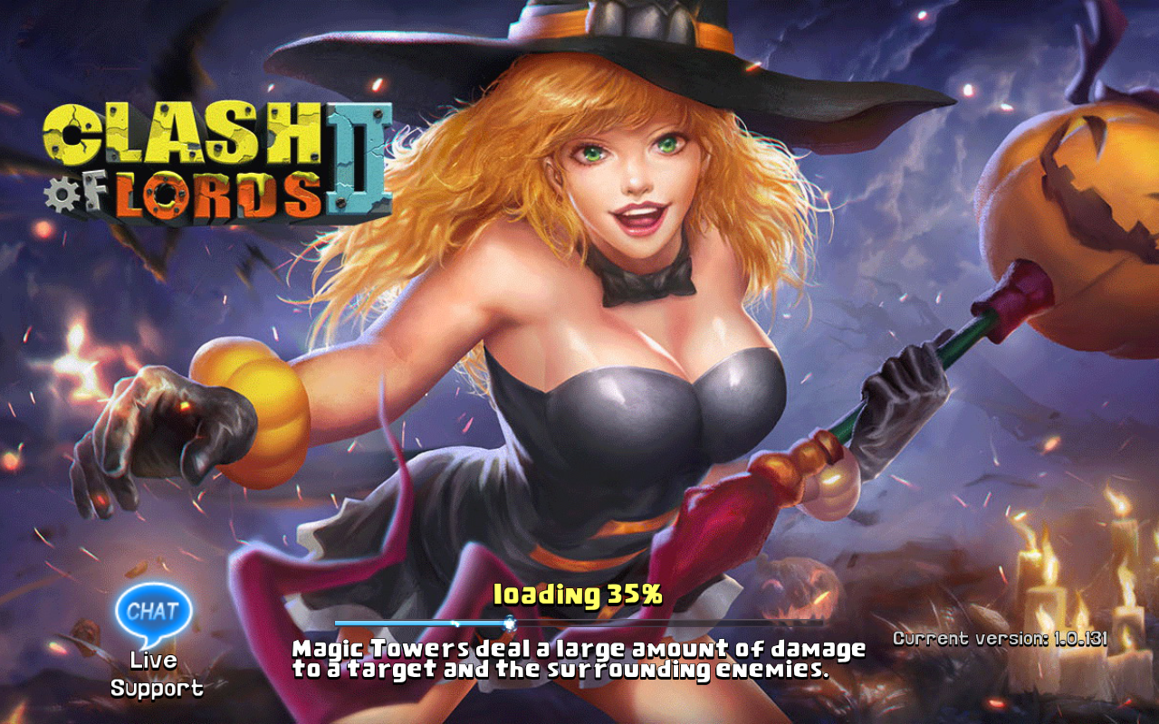 Clash of Lords 2 Current version 1.0.131
