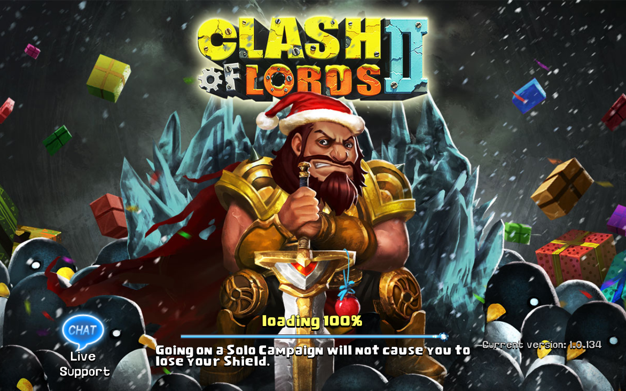 Clash of Lords 2 Current version 1.0.134
