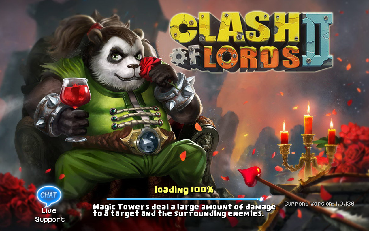 Clash of Lords 2 Current version 1.0.136