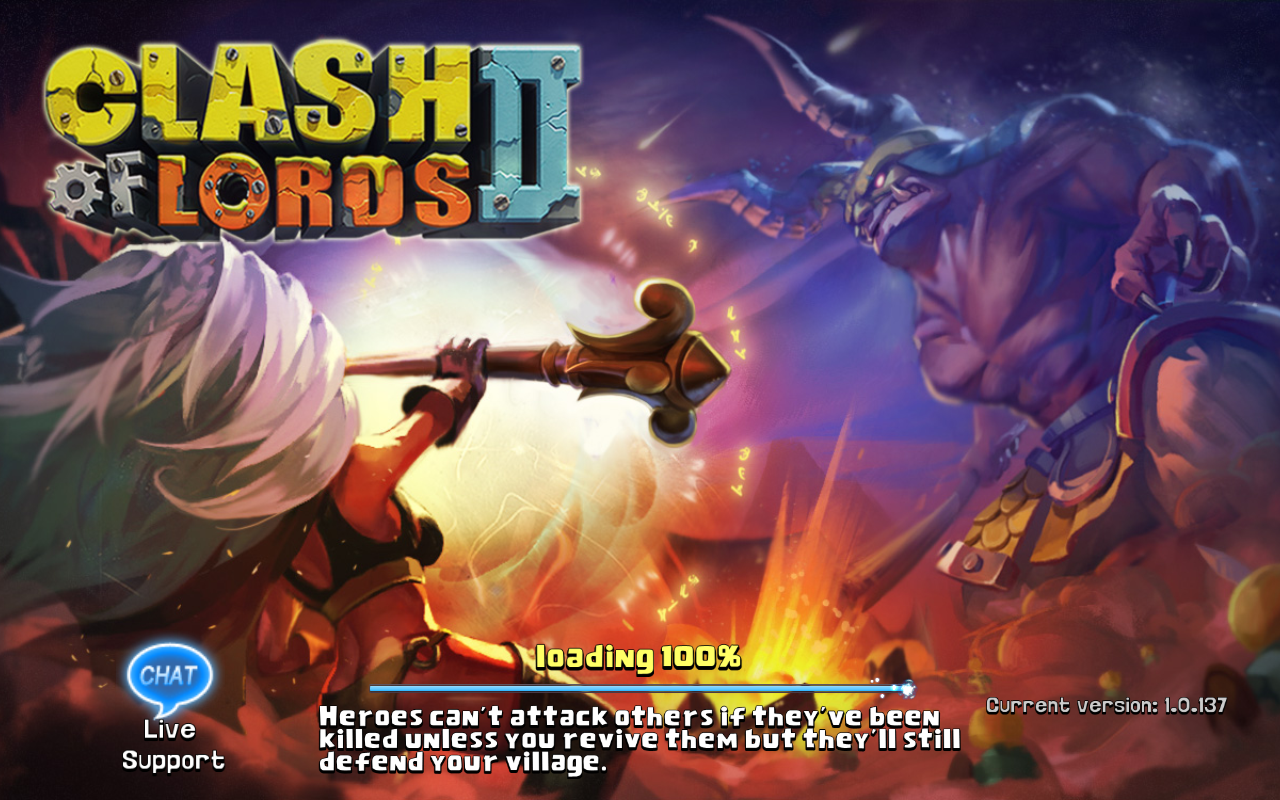 Clash of Lords 2 Current version 1.0.137