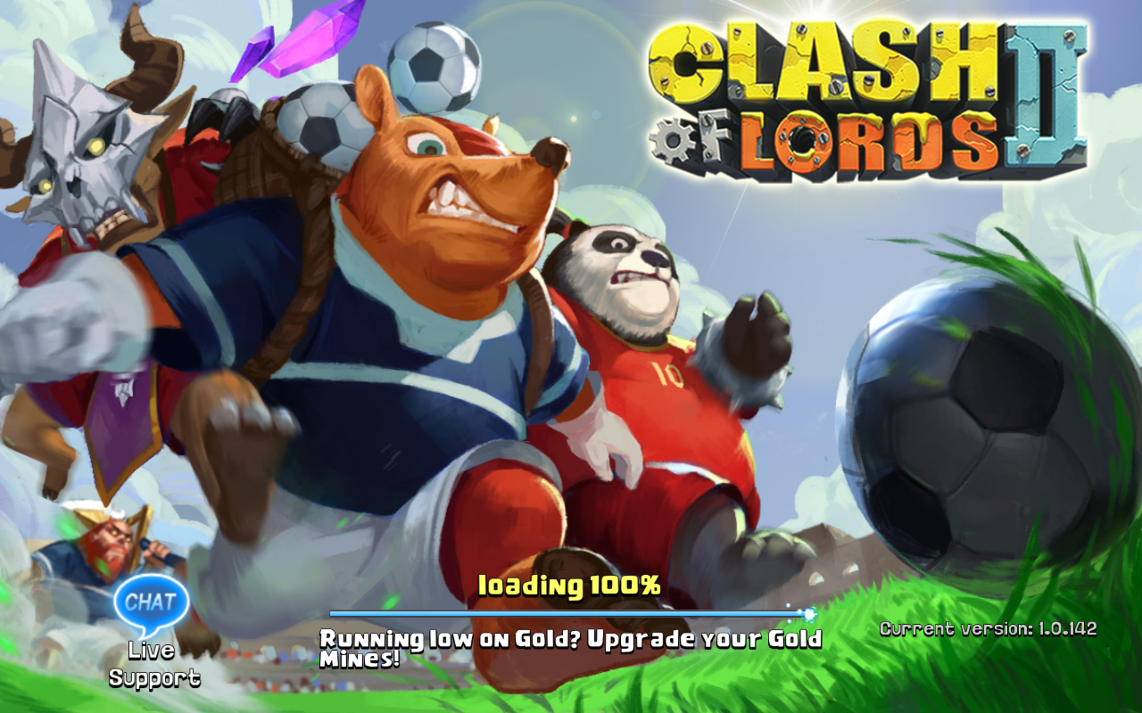 Clash of Lords 2 Current version 1.0.142