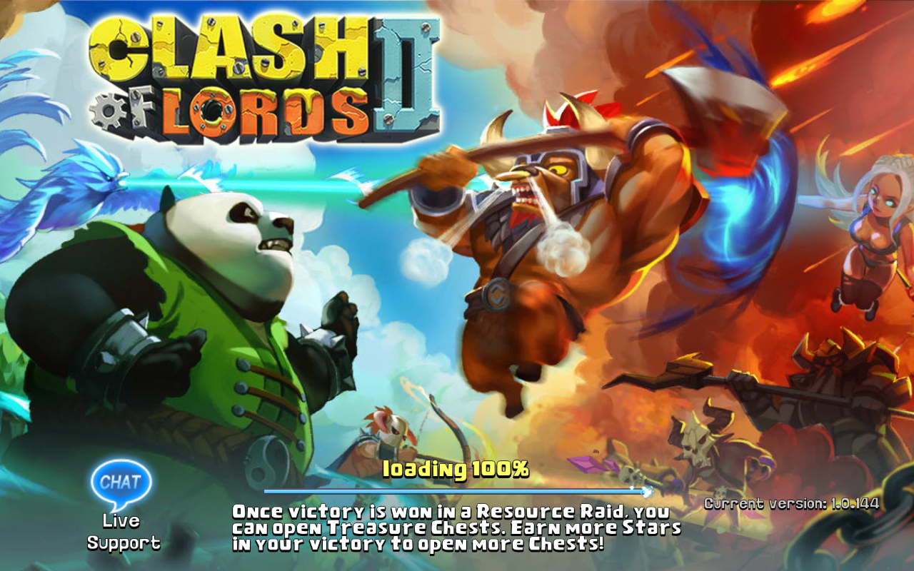 Clash of Lords 2 Current version 1.0.144