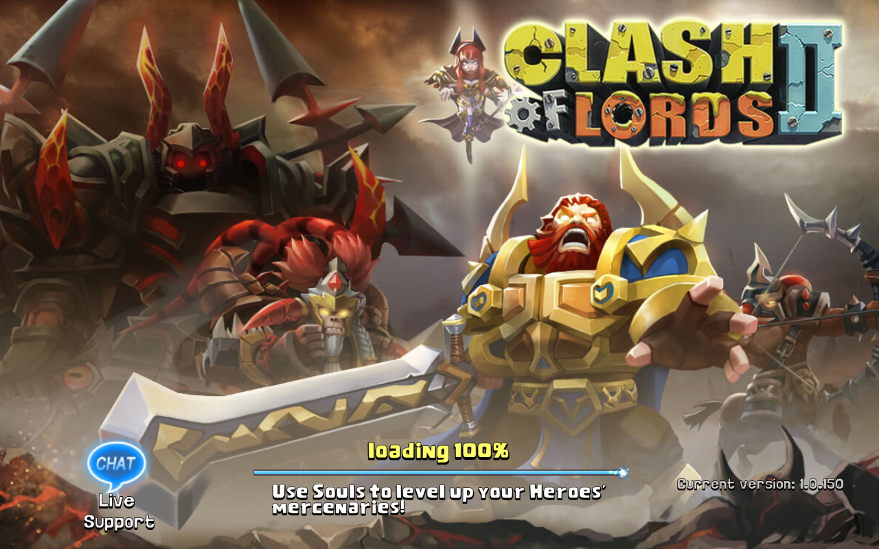 Clash of Lords 2 Current version 1.0.150