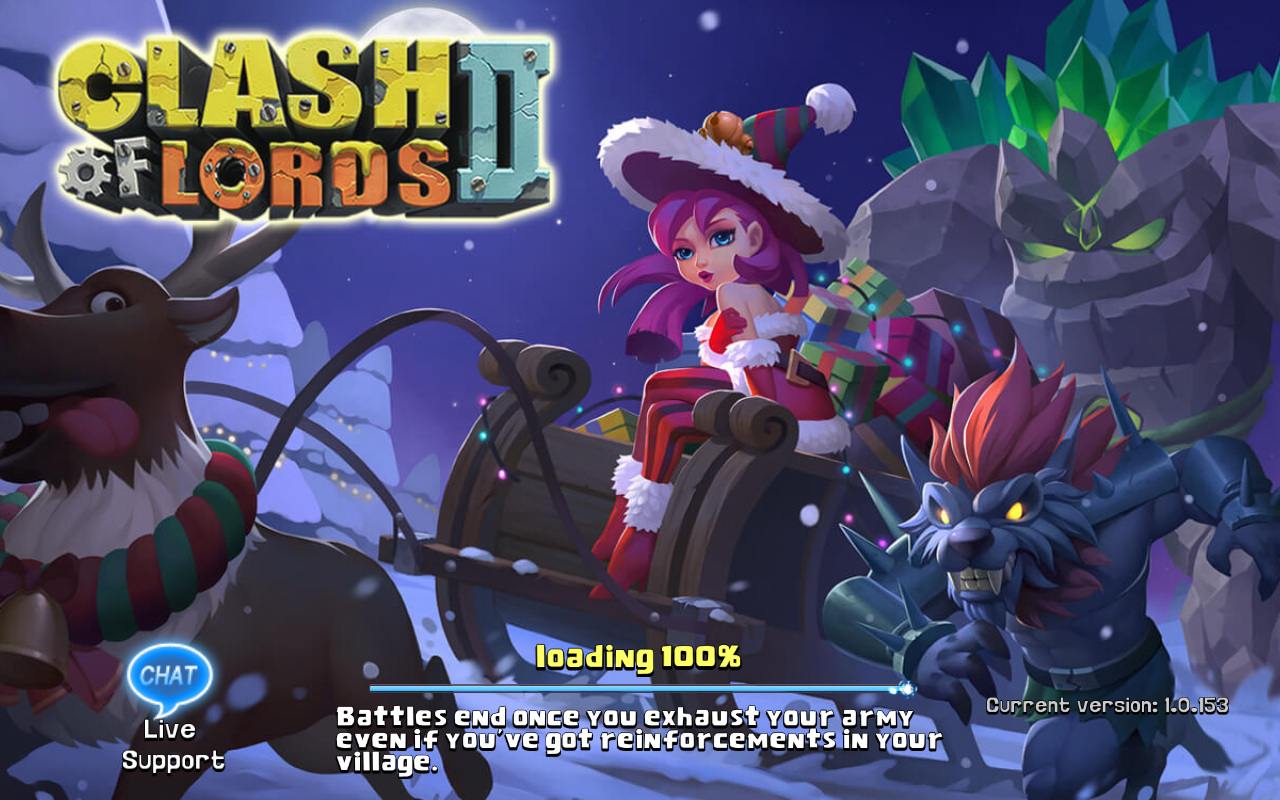 Clash of Lords 2 Current version 1.0.153
