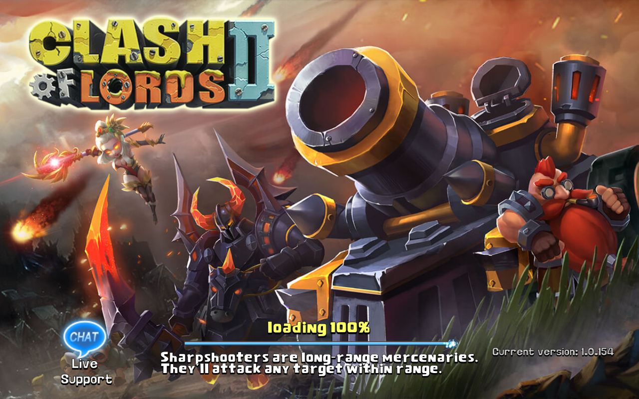 Clash of Lords 2 Current version 1.0.154