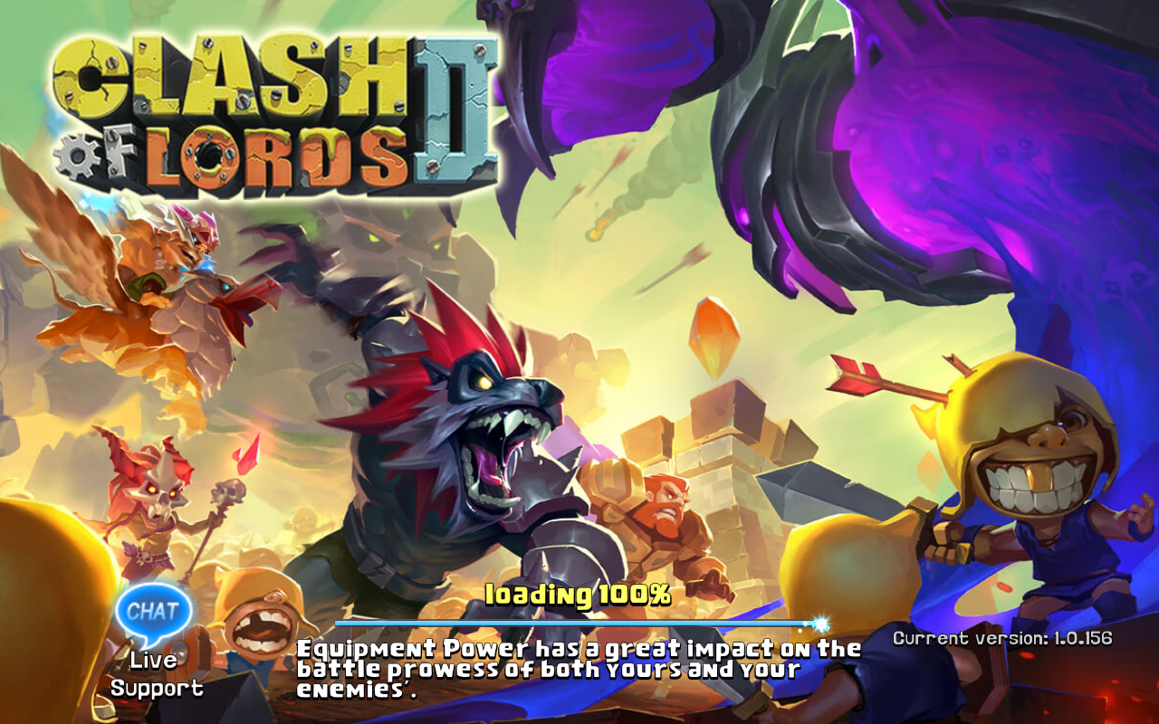 Clash of Lords 2 Current version 1.0.156
