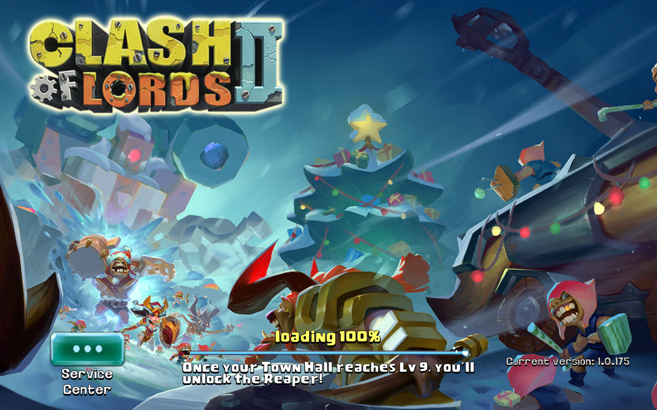 Clash of Lords 2 Current version 1.0.175