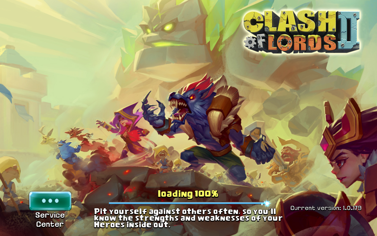 Clash of Lords 2 Current version 1.0.179