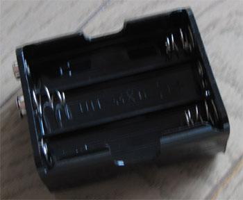 電池ボックス6本用