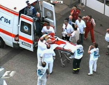 フェリペの事故