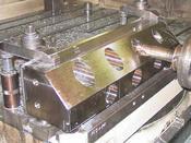 深さ130mmのΦ70座グリは簡単なようで結構苦戦しました。