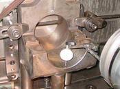 ダイヤルゲージでΦ160.1(Φ190.1)穴の垂直度測定