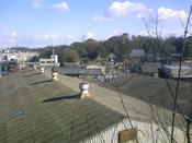 岡の上から地元寺社方面を望む
