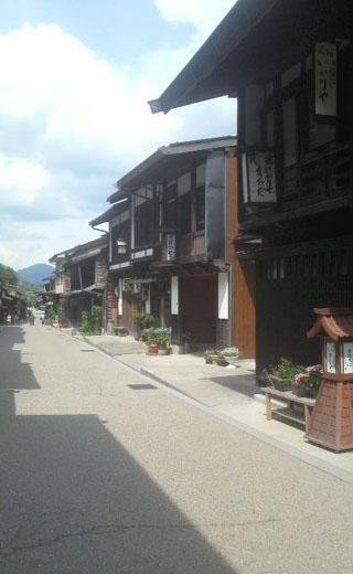 木曽の奈良井宿