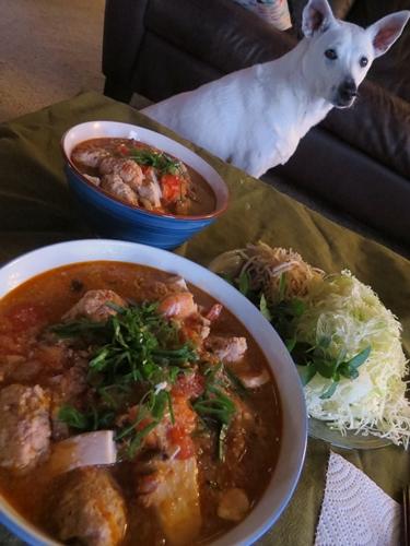 激ウマ!ベトナム風カニトマトスープ【San Franciscoのひとりごと...3】