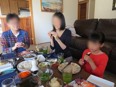 手巻き寿司@Home【San Franciscoのひとりごと...3】