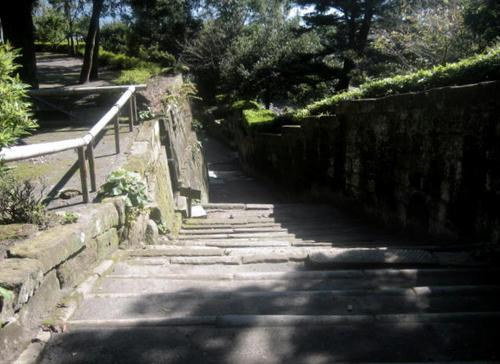 仙巌園石段