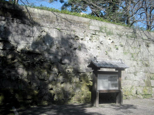 鶴丸城石垣