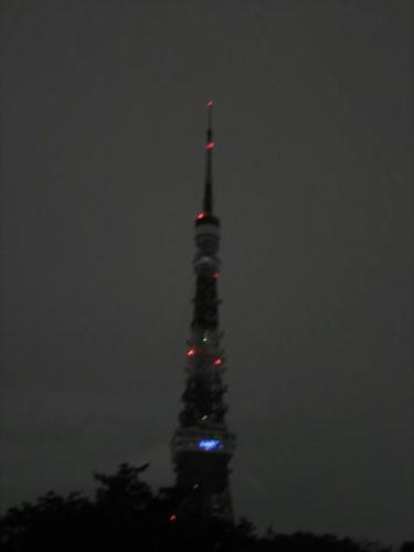 東京タワーライトダウン