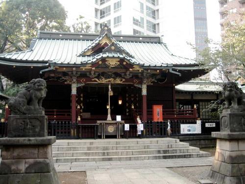 金王神社社殿