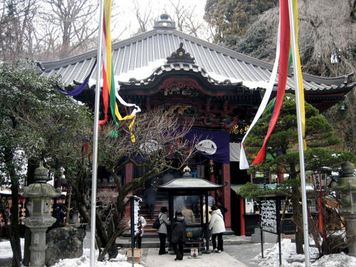 水澤寺本堂