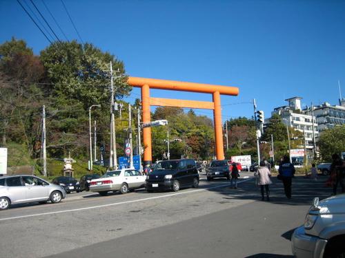 筑波神社大鳥居