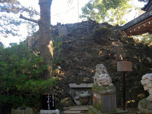 品川神社富士塚