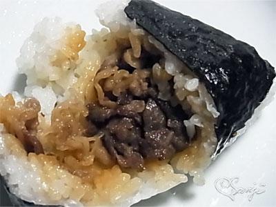 鹿児島のうまい!黒毛和牛のうんまか煮おにぎりの中身