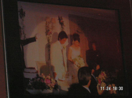 Iくん結婚式