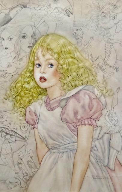 アンヘル・ドミンゲス版の挿絵