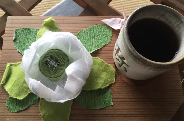 璉珹寺のお茶