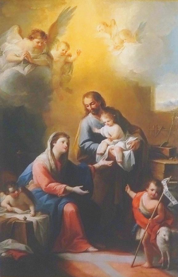 聖家族と幼い洗礼者ヨハネ