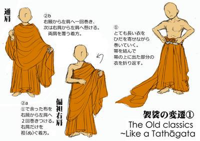 袈裟の変遷(1)