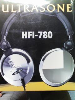 ヘッドフォンの箱
