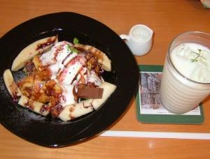 7月2日shu cafe(フレンチトーストゴージャス)
