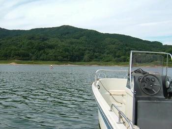 9月22日田瀬湖①