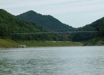 9月22日田瀬湖②