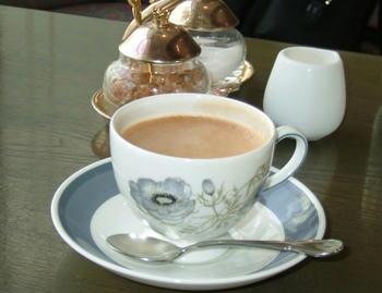 9月22日コーヒー(ウェッジウッドだっ!)