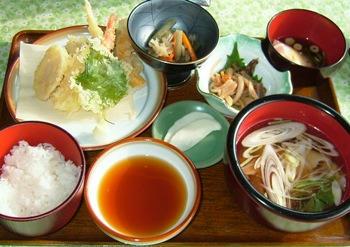 遠野ふるさと村山菜定食