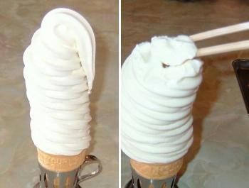 ○カン「ソフトクリーム」