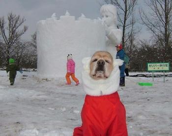 2月3日小岩井雪祭り♪ガリバー旅行記