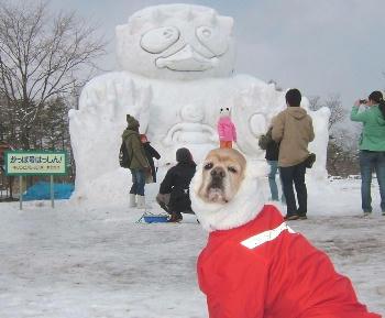 2月3日小岩井雪祭り♪かっぱ号はっし~ん!
