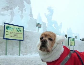 2月3日小岩井雪祭り♪氷像