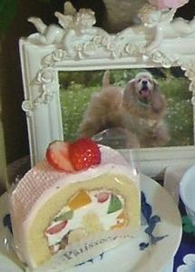 6回目の月命日ケーキ♪