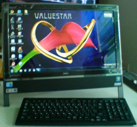 新しいパソコンですねん