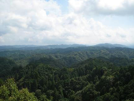 大福山展望台から