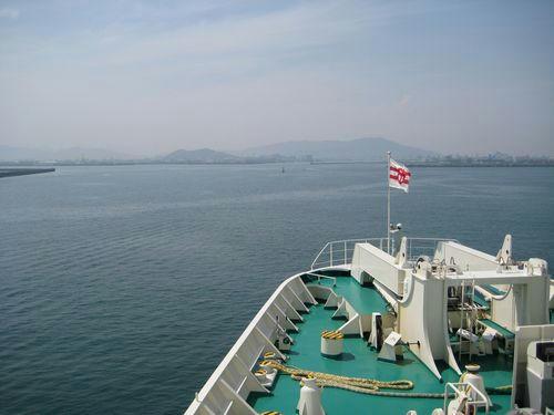 徳島・津田港