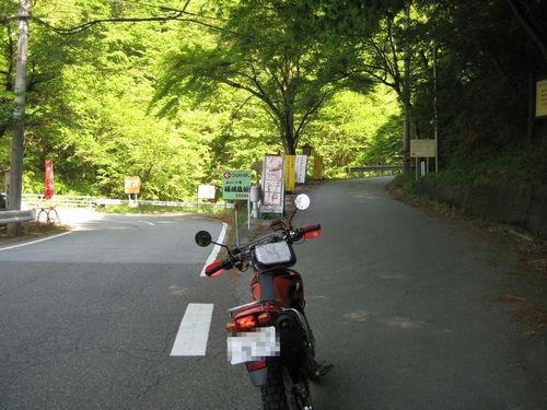 焼山沢真木林道入口