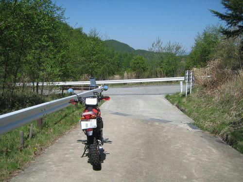 日川林道終点