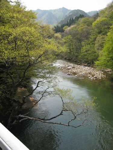 高瀬川渓谷